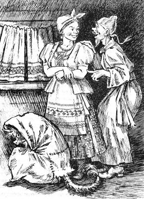 Alexander Vasilievich Kuzmin. Christmas Eve. N.V. Gogol.
