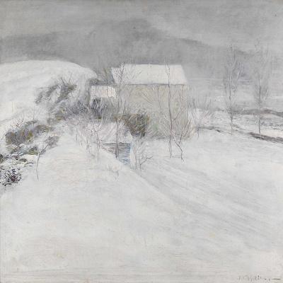 Джон Генри Твахтман. Снег