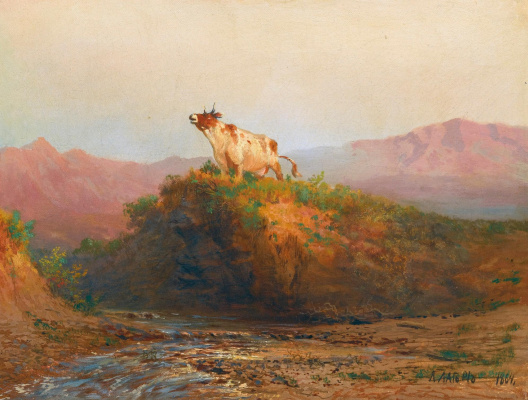 Lev Feliksovich Lagorio. Mountain pastures