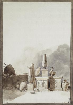 Жан-Пьер-Лоран Уэль. Предметы древнего искусства