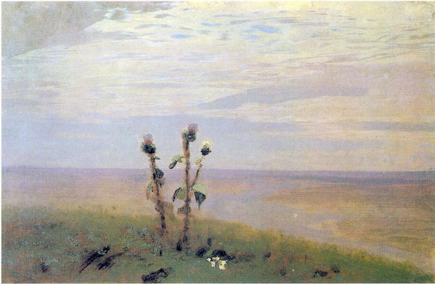 Arkhip Ivanovich Kuindzhi. Dnepr. A sketch of the same picture