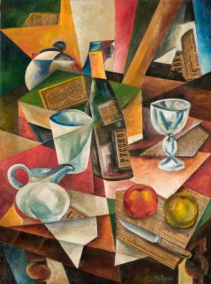 Иван Альбертович (Жан) Пуни. «Натюрморт с ножом» 1910