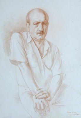 Vaqif Ucatay. Self-portrait