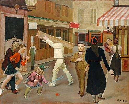 Balthus (Balthasar Klossovsky de Rola). La Rue