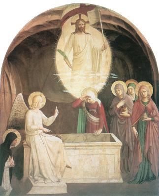 Фра Беато Анджелико. Воскресение Христа. Около 1440–1442