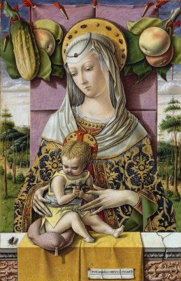 Carlo Crivelli. Madonna and Child