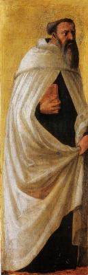 Tommaso Masaccio. Saint Carmelite (with a beard)