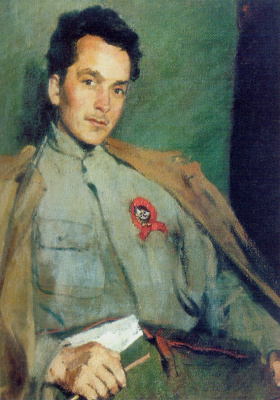 Сергей Васильевич Малютин. Портрет писателя Д. А. Фурманова