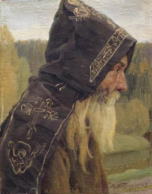 Mikhail Vasilyevich Nesterov. Monk