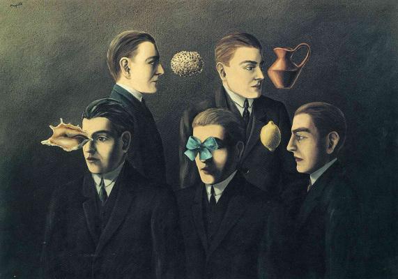 René Magritte. Familiar objects