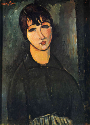 Amedeo Modigliani. Portrait of a maid
