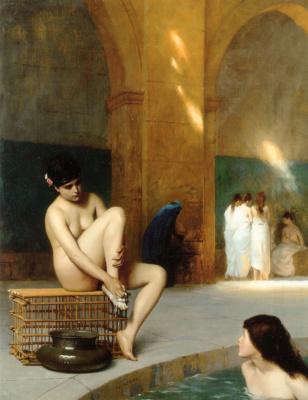 Jean-Leon Jerome. Nude women
