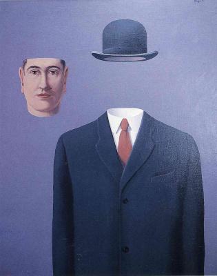 René Magritte. Pilgrim