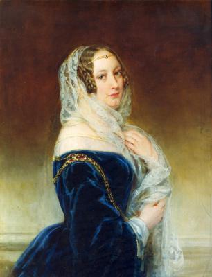 Christina Robertson. Portrait of M.I. Baryatinskaya.