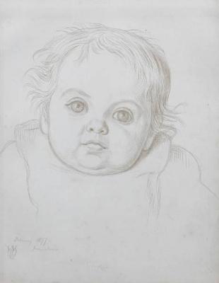Portrait Of Gladys Holman Hunt