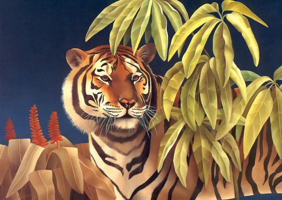 Лаура Риган. Тигр