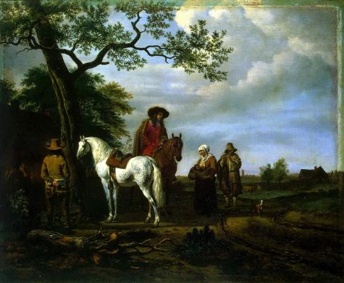 Adrian van de Velde. Stopover