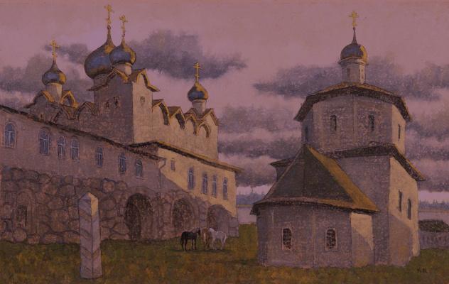 VALERIY VLADIMIROVICH KOMAROV. BEAUTIES SLENDER GENEROSITY