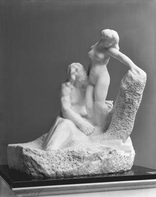 Auguste Rodin. Pygmalion and Galatea