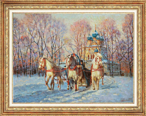 Igor Razzhivin. A miracle - the Russian winter!
