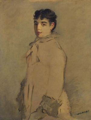 Edouard Manet. Portrait of Rosita Mauri