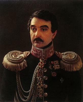 Alexey Vasilyevich Tyranov. Portrait of the composer A. F. Lvov