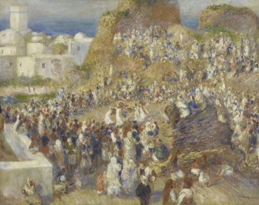 Pierre Auguste Renoir. The Mosque (Arab Festival)
