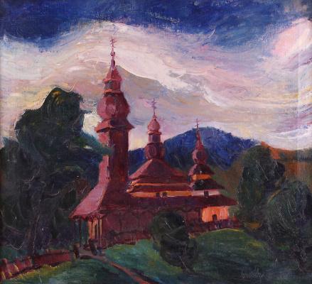 Adalbert Mikhailovich Erdeli. Church