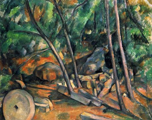 Paul Cezanne. Millstone