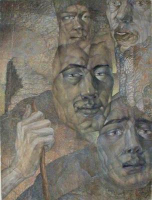Павел Яковлевич Зальцман. Пять голов
