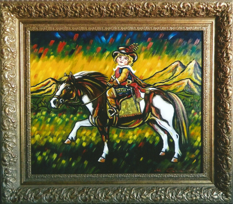 Margarita Anatolievna Chakova. Faithful horse of Baltazar