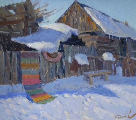 Евгений Бучн. Март