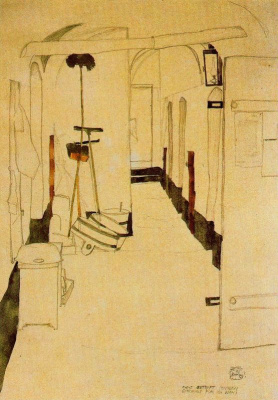 "Egon Schiele. Prison. ""I feel not punished but purified"""
