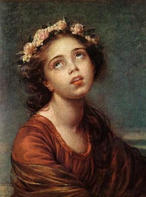 Элизабет Виже-Лебрен. Портрет дочери художницы