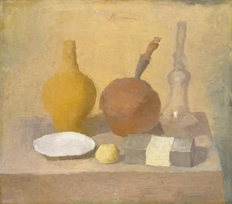 Giorgio Morandi. Still life