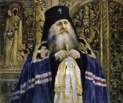 Mikhail Vasilyevich Nesterov. Archbishop Antony Volynsky
