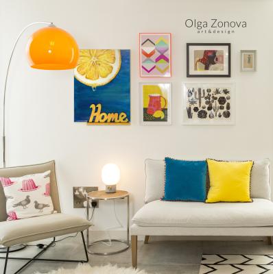 Olga Zonova. Orange slice