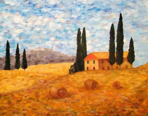 Valentina Khudyakova. Fields landscape