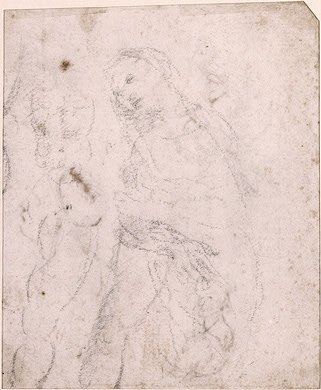 Unknown artist. Study Of The Madonna