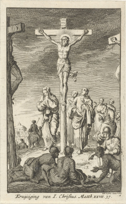 Jan Leuken. Crucifixion of Christ