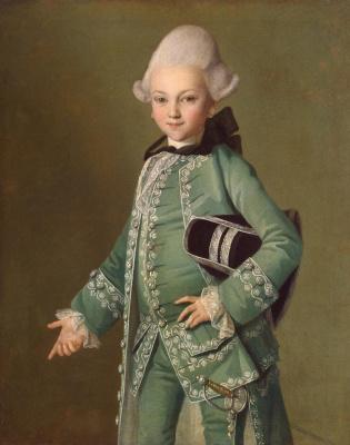 Карл Людвиг Иоганн Христинек. Портрет графа Алексея Григорьевича Бобринского