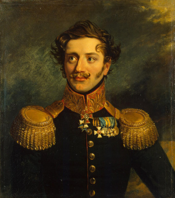 George Dow. Portrait Of Pavel P. Suchtelen