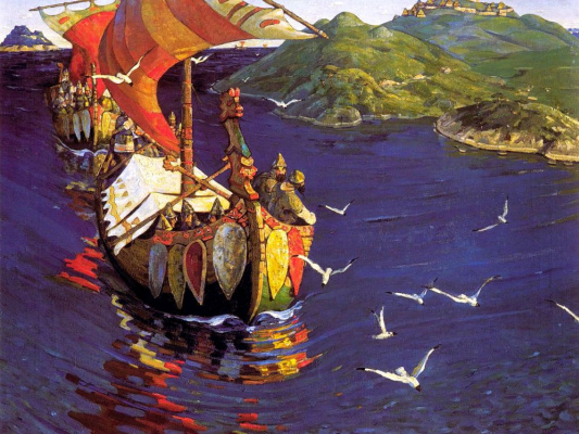 Nicholas Roerich. Overseas guests