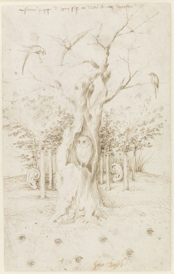 Hieronymus Bosch. The hearing forest and the sighted field