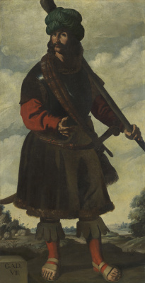 "Francisco de Zurbaran. Bastard of the series, ""Jacob and his twelve sons"""