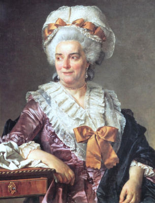 Jacques-Louis David. Madame Jacqueline Genevieve Pecoul, mother-in-law of the artist