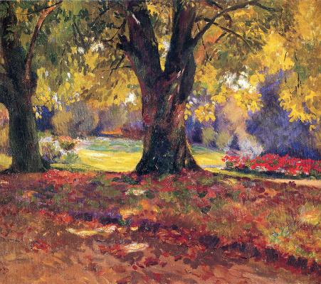 Bernhard Kutmann. Autumn Park