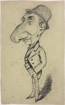 Клод Моне. Человек с большим носом