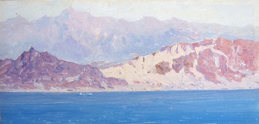 Vsevolod Andreevich Bazhenov. Arabian coast.