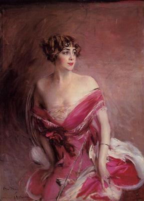 Giovanni Boldini. Portrait of Mademoiselle de Gillespier, Lady Biarritz